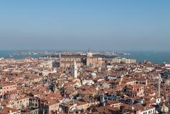 Mening van Venetië Stock Afbeelding