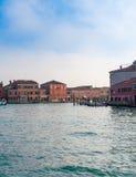 Mening van Venetië van het kanaal Royalty-vrije Stock Foto