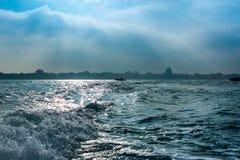 Mening van Venetië van het kanaal Royalty-vrije Stock Fotografie