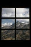 Mening van venster Royalty-vrije Stock Foto