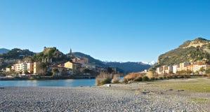 Mening van Ventimiglia Royalty-vrije Stock Fotografie