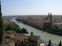 Mening van Verona Stock Fotografie
