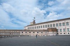 Mening van vierkante quirinale Royalty-vrije Stock Fotografie