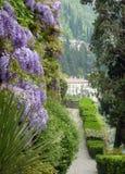 Mening van Villa Monastero Stock Foto's