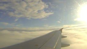 Mening van vliegtuig stock video