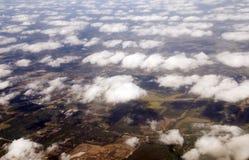 Mening van vliegtuig window2 Royalty-vrije Stock Foto