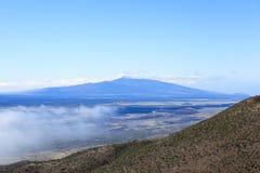 Mening van vulkaan Royalty-vrije Stock Afbeeldingen