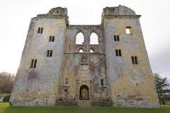 Mening van Wardour-Kasteel, Wiltshire, Engeland Stock Afbeelding
