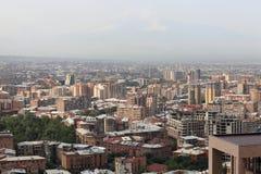 Mening van Yerevan royalty-vrije stock afbeelding