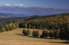 Mening van Zakluky-berg Royalty-vrije Stock Afbeeldingen