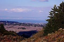 Mening van Zuid-San Francisco royalty-vrije stock afbeelding