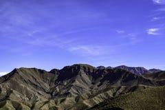 Mening vanaf de bovenkant van de Atlasbergen Royalty-vrije Stock Foto