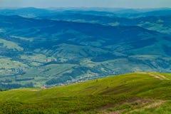 Mening vanaf de bovenkant van berg Hymbа Royalty-vrije Stock Afbeelding