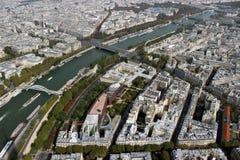Mening vanaf de bovenkant van Parijs Royalty-vrije Stock Foto's