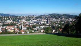 Mening in Zwitserland royalty-vrije stock foto's