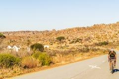 Meningen bij Pakhuis-Pa's in Zuid-Afrika Stock Afbeelding