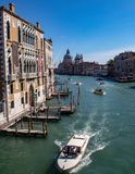 Meningen langs Grand Canal royalty-vrije stock fotografie