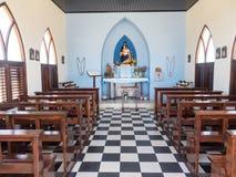 Meningen rond Alto Vista Chapel royalty-vrije stock afbeeldingen