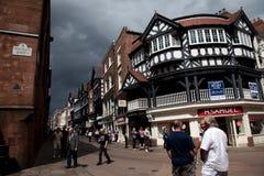 Meningen rond Chester Stock Afbeeldingen