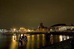 Meningen rond de Baai van Cardiff royalty-vrije stock afbeeldingen