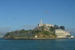 Meningen van Alcatraz-Eiland van het Overzees De Architectuur van de reisvakantie royalty-vrije stock foto