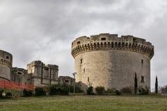 Meningen van de stad van Matera Stock Fotografie
