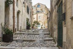 Meningen van de stad van Matera Royalty-vrije Stock Foto's