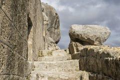 Meningen van de stad van Matera Stock Afbeelding