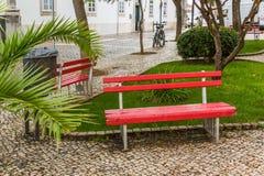 Meningen van de straten van Tavira in Portugal Stock Fotografie