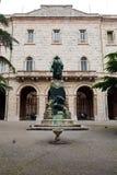 Meningen van de straten van de mooie stad van Perugia Stock Foto