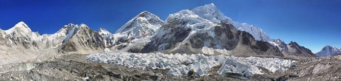Meningen van Everest-Basiskamp Royalty-vrije Stock Afbeelding