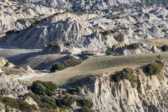 Meningen van het Nationale Park van Aliano Badlands Royalty-vrije Stock Fotografie