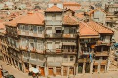 Meningen van van Porto, Portugal stock foto's
