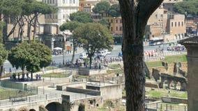 Meningen van Rome stock video
