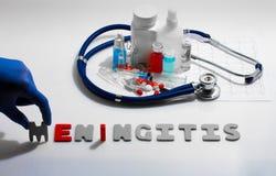 meningitis Imágenes de archivo libres de regalías