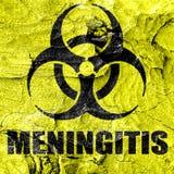 Meningitis virus concept background Stock Photography