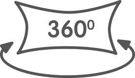 Menings 3d pictogram Royalty-vrije Stock Afbeelding