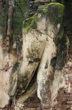 Meningslandschap van het standbeeld van Boedha in Wat Phra Si Iriyabot van het Historische Park van Kamphaeng Phet in Kamphaeng P Stock Afbeelding