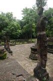 Meningslandschap van het standbeeld van Boedha in Wat Phra Sing van het Historische Park van Kamphaeng Phet in Kamphaeng Phet, Th Royalty-vrije Stock Foto's