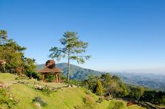 Meningspunt van Huai Nam Dang National-park Royalty-vrije Stock Foto