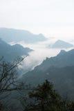 Meningspunt van Tianmen-berg Stock Afbeelding