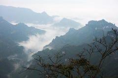 Meningspunt van Tianmen-berg Royalty-vrije Stock Foto's