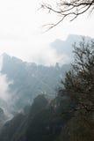Meningspunt van Tianmen-berg Royalty-vrije Stock Afbeelding