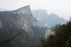 Meningspunt van Tianmen-berg Royalty-vrije Stock Foto