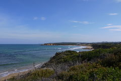 Meningszuiden onderaan de kust van Kaapbeproeving, Queensland, Australië Royalty-vrije Stock Fotografie