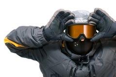 Menino 3 do Snowboarder Imagem de Stock