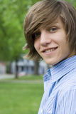 Menino adolescente Fotografia de Stock