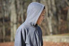 Menino adolescente Fotografia de Stock Royalty Free