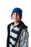 Menino adolescente feliz Foto de Stock