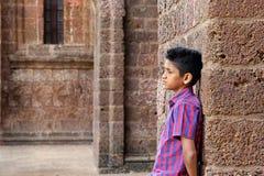 Menino adolescente temperamental Fotos de Stock Royalty Free
